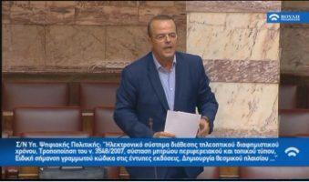 Α. Τριανταφυλλίδης: Δεκτή από Ν.Παππά η τροπολογία για τη διοικητική αυτοτέλεια της ΕΡΤ3.(ΒΙΝΤΕΟ)