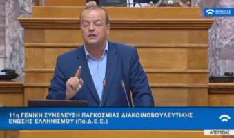 Α. Τριανταφυλλίδης προς Ομογενείς Βουλευτές: «Να αθροίσουμε δυνάμεις, να ενώσουμε δυνάμεις. Η Πατρίδα Σας χρειάζεται, η Πατρίδα μας χρειάζεται όλους».(ΒΙΝΤΕΟ)