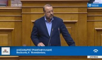 Τριανταφυλλίδης προς Μητσοτάκη (ΒΟΥΛΗ): «Πάρτε θέση για την ακροδεξιά-φασιστική απειλή κ.Πρόεδρε της Αξιωμ. Αντιπολίτευσης»(ΒΙΝΤΕΟ)
