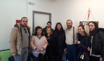 Συνάντηση Αλέξανδρου Τριανταφυλλίδη με εργαζόμενους του ΚΔΑΠ Παύλου Μελά.(ΦΩΤΟ)