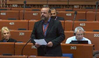 Α.Τριανταφυλλίδης στο Συμβούλιο της Ευρώπης: «Συμβολή στην πανευρωπαϊκή μνήμη το Μουσείο Ολοκαυτώματος στη Θεσσαλονίκη».(VIDEO)