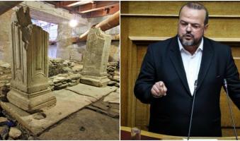Α.Τριανταφυλλίδης για ΜΕΤΡΟ: «Κάτω τα χέρια από την ιστορία και το σώμα της πόλης».