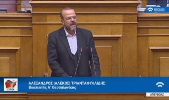 Α. Τριανταφυλλίδης προς ΝΔ: «Σας πήραν χαμπάρι οι ομογενείς: «Μην μας περιμένετε, θα αργήσουμε, Φάτε».(video 0.56)
