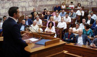 Προστασία της 1ης κατοικίας μέχρι τέλος του έτους ζητά η Κ.Ο. ΣΥΡΙΖΑ με επικεφαλής τον Α.Τσίπρα.