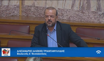 """Α.Τριανταφυλλίδης προς Πιερρακάκη: """"Δώστε κίνητρα για ίση πρόσβαση των πολιτών στην ψηφιακή Ελλάδα"""". (Video)"""