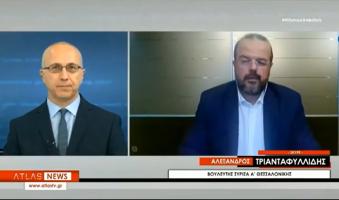 Α.Τριανταφυλλίδης: «Εν μέσω πανδημίας, θα βρεθεί Έλληνας Πρωθυπουργός που θα θελήσει να κάνει πολιτικό-εκλογικό ταμείο;» (VIDEO)