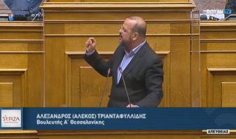 """Τριανταφυλλίδης κατά Χατζηδάκη:""""Πάρτε πίσω την άδεια καύσης απορριμμάτων RDF-SRF του ΤΙΤΑΝ – Η Θεσσαλονίκη έχει δικαίωμα στην αναπνοή"""". (Video)"""