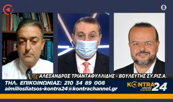 Νέα παρέμβαση Τριανταφυλλίδη για τη Θεσσαλονίκη Ενόψει του Τρίτου Κύματος του Κορονοϊού.(Video)