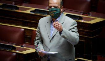 """Τριανταφυλλίδης προς Κοντοζαμάνη: """"Η Βουλή ζητά τη μονιμοποίηση των συμβασιούχων του Ε.Σ.Υ. – Η Κυβέρνηση πεισματικά το αρνείται"""". (Video)"""