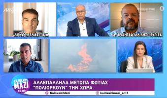 Α.Τριανταφυλλίδης στον ANT1: «Το πρώτο ζητούμενο είναι οι λύσεις και ο κ.Μητσοτάκης δεν μπορεί να τις εγγυηθεί γιατί ο ίδιος είναι το πρόβλημα». (Video)